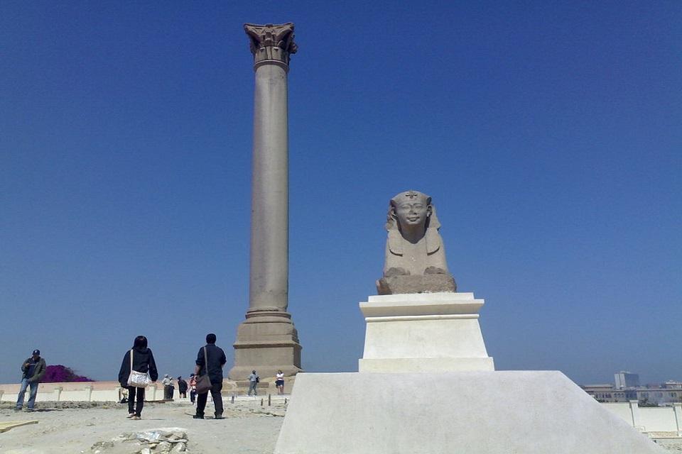 The column of the Sawari.